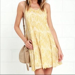 O'Neill Yellow Dress